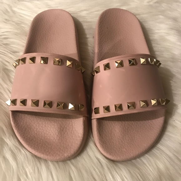 41cdf3ee5f166 Authentic Valentino Rockstud Slide Sandals. M_5b02330100450f36055196e6
